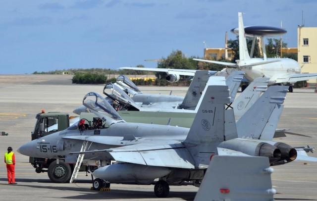 DACT 2016 - F-18 - foto Ejercito del Aire