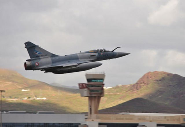 DACT 2016 - Mirage 2000 - foto Ejercito del Aire