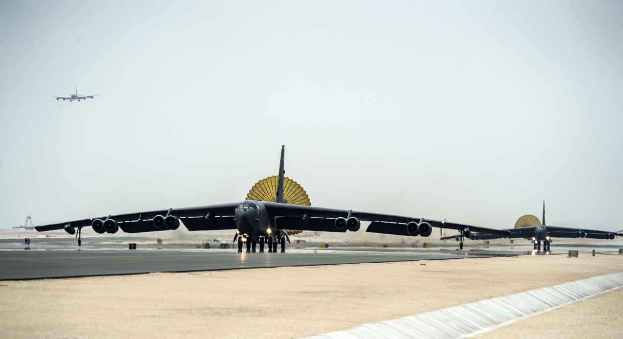 B-52 - pouso Base Al Udeid no Qatar - foto 2 USAF