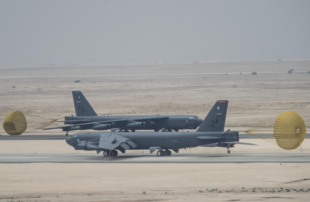 B-52 - pouso Base Al Udeid no Qatar - foto 3 USAF