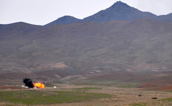 Afghan Tactical Air Controllers train near Kabul