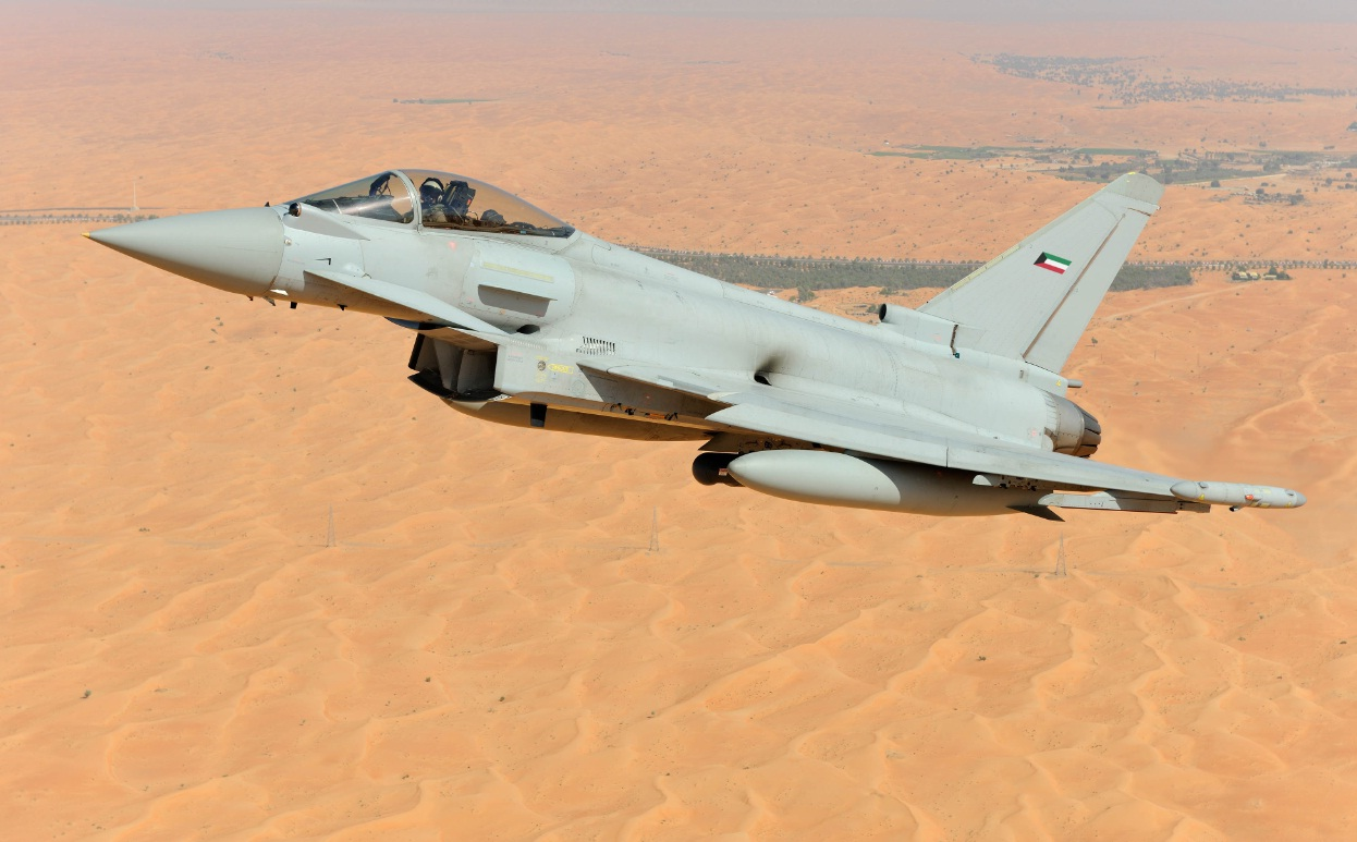 Eurofighter Typhoon para o Kuwait - imagem via Eurofighter