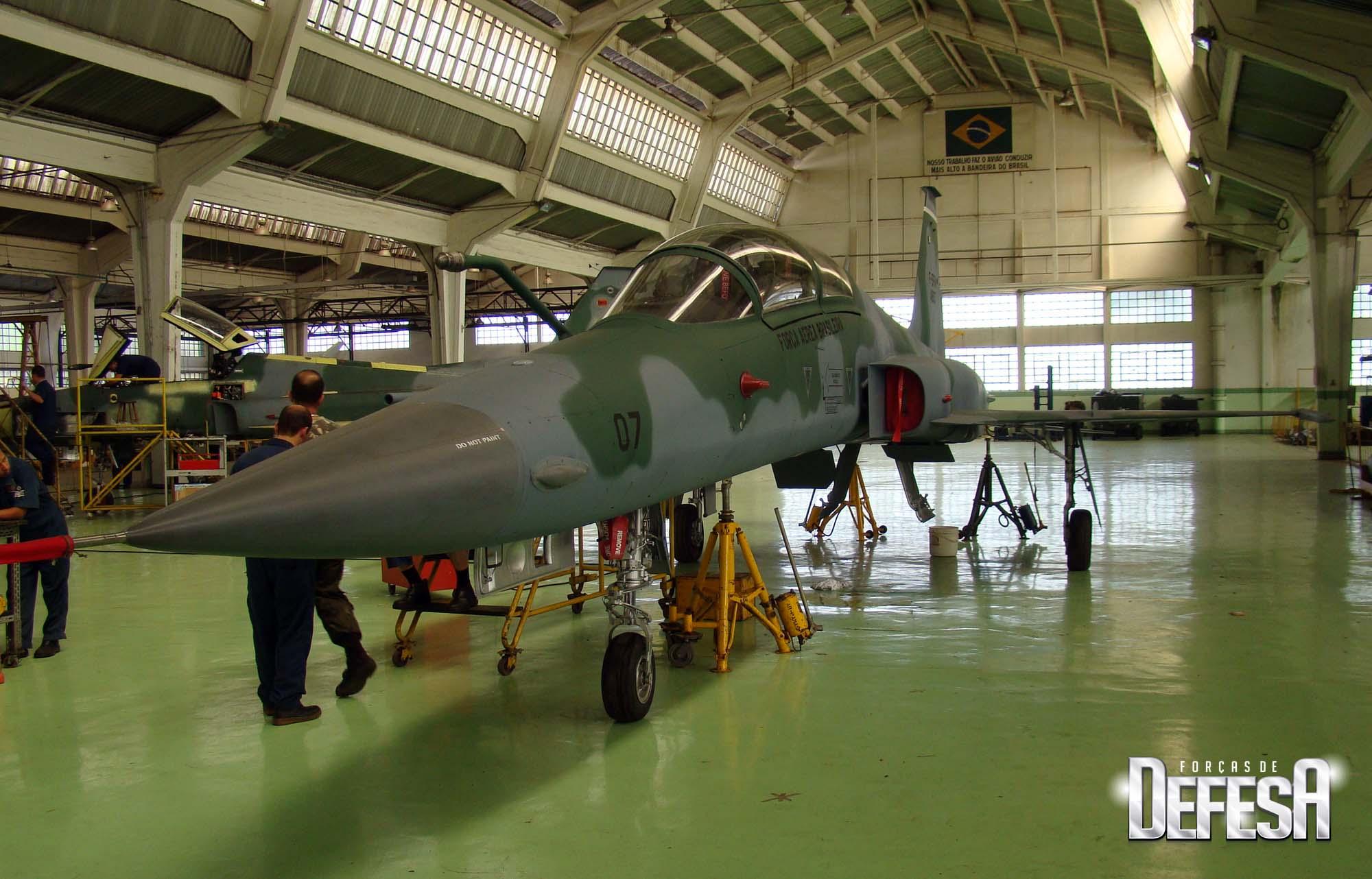 F-5FM 4807 no PAMA-SP em 2011 - foto Nunao