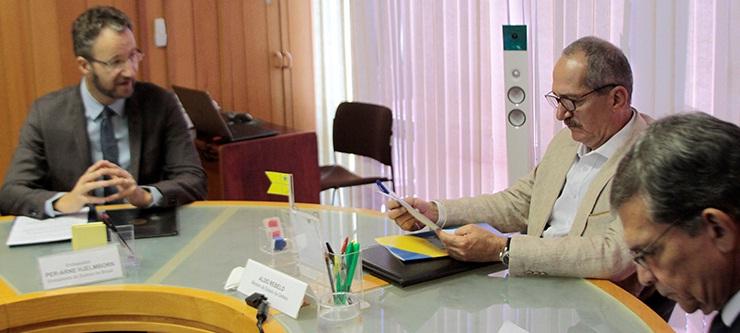 Foto da nota Brasil e Suecia ampliam parceria estrategica - PH Freitas - Min da Defesa