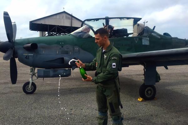 Inicio voos solo em A-29 no Esquadrao Joker em 2016 - foto 2 FAB
