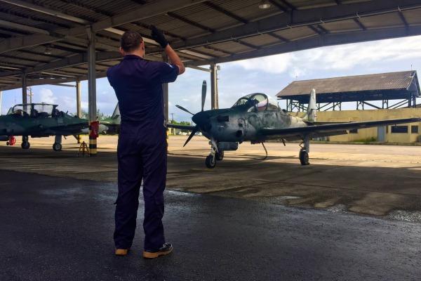 Inicio voos solo em A-29 no Esquadrao Joker em 2016 - foto 3 FAB