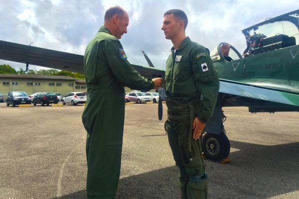 Inicio voos solo em A-29 no Esquadrao Joker em 2016 - foto 5 FAB