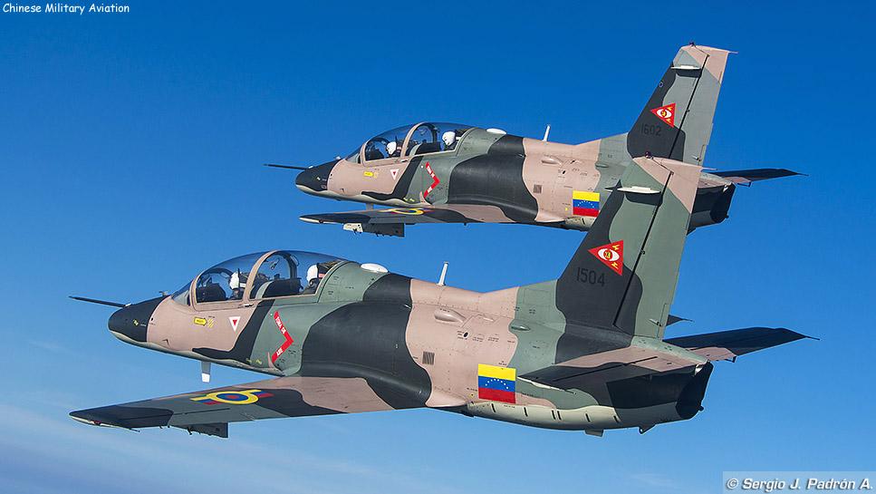 Resultado de imagem para Força aérea da Venezuela caças K-8