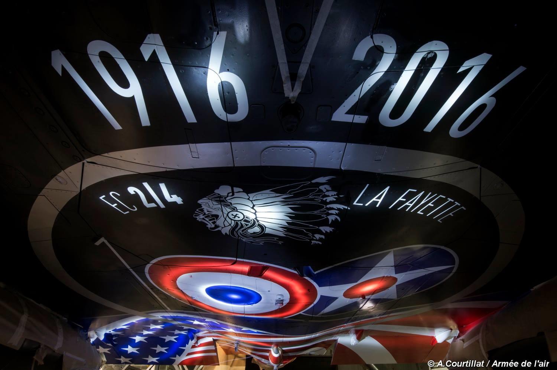 Mirage 2000N pintura 100 anos La Fayette - foto 3 Forca Aerea Francesa