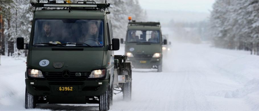 Novo conceito apoio Gripen desdobrado - foto 7 Forças Armadas Suecas