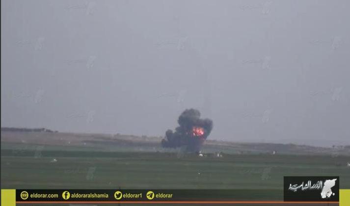 Su-22 abatido na siria2