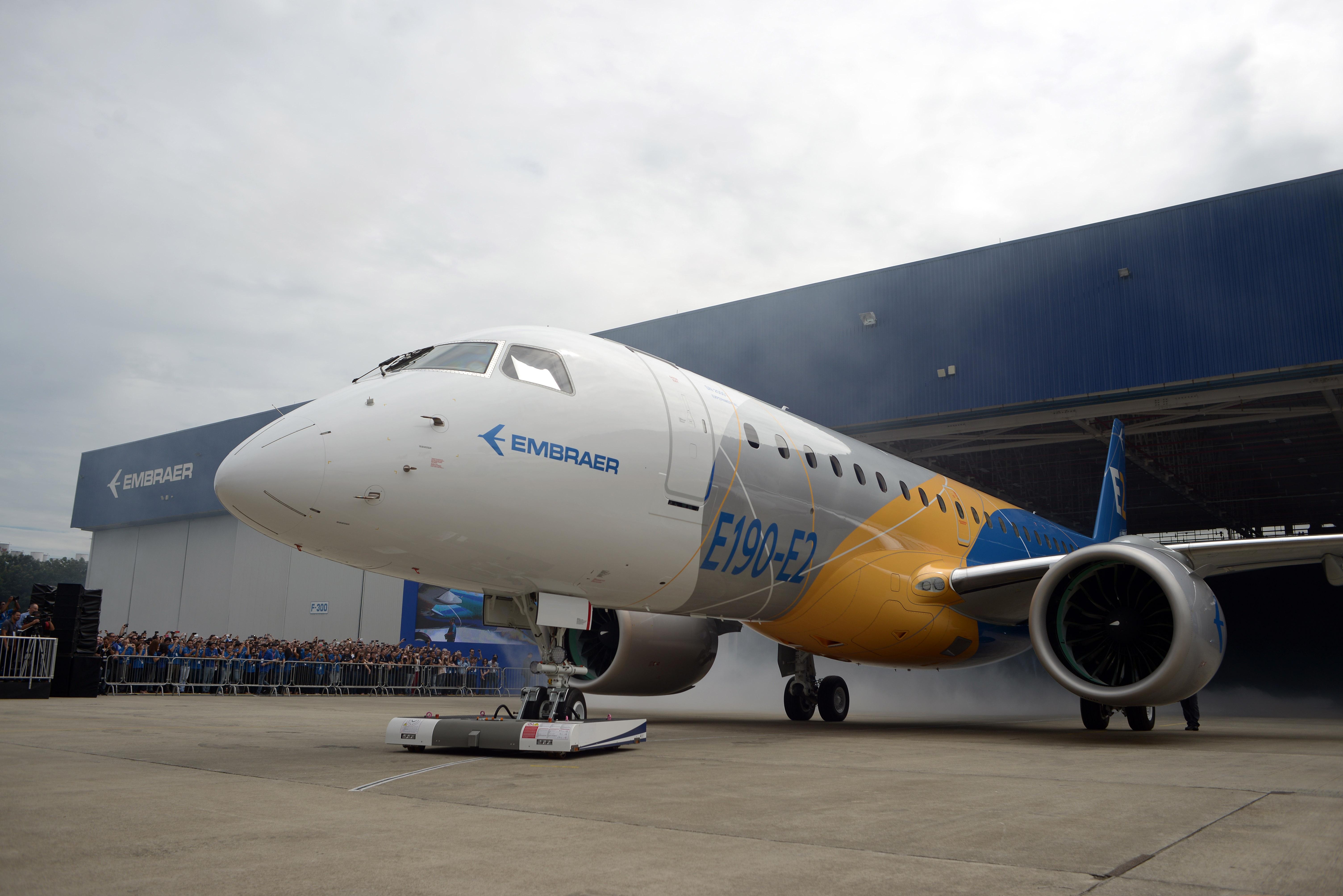 aerospace-embraer-e190-e2-rollout-erj