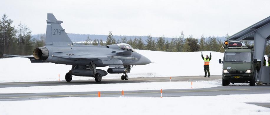 Desdobramento Ala 21 em Jokkmokksbasen - foto 8 Forcas Armadas da Suecia