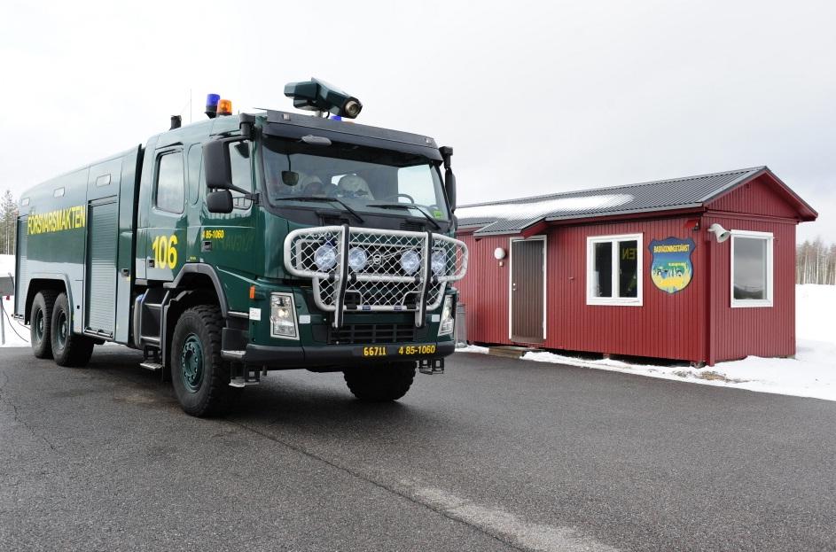 Desdobramento Ala 21 em Jokkmokksbasen - foto Forcas Armadas da Suecia
