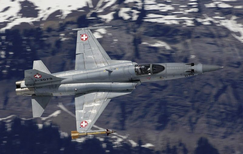 F-5E suico - foto Forca Aerea Suica