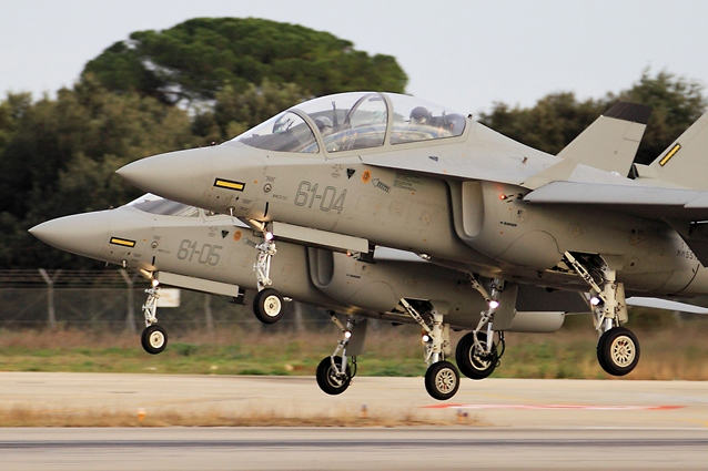 Jatos treinadores T-346 - foto Forca Aerea Italiana