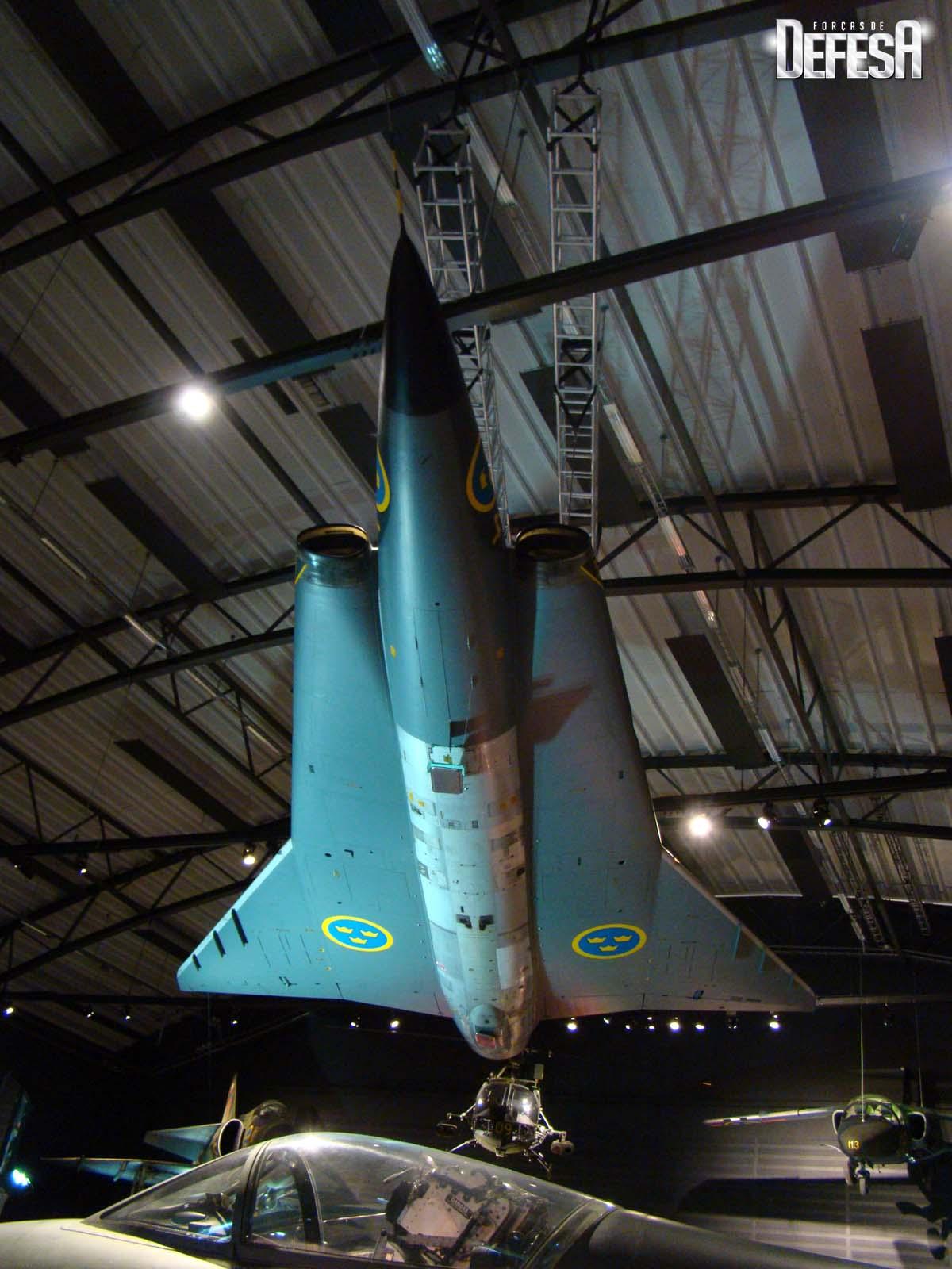 Saab evento Museu Forca Aerea Sueca 16-5-2015 - foto 2 Nunao - Poder Aereo