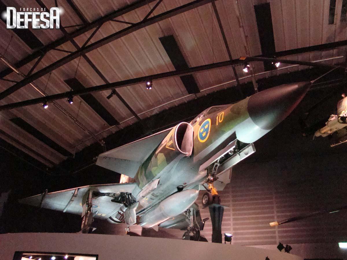 Saab evento Museu Forca Aerea Sueca 16-5-2015 - foto 3 Nunao - Poder Aereo