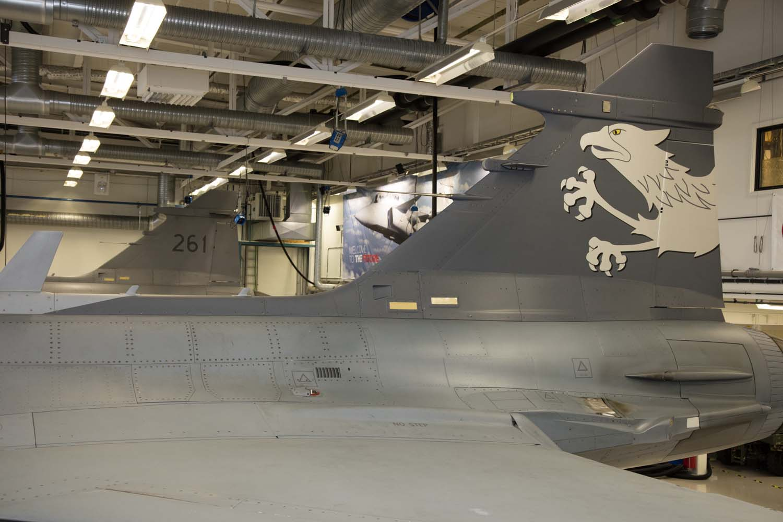 Visita hangar testes Saab 19-5-2016 - foto 1 Saab