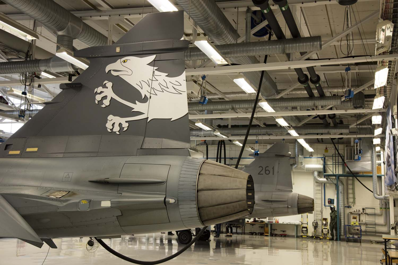 Visita hangar testes Saab 19-5-2016 - foto 15 Saab