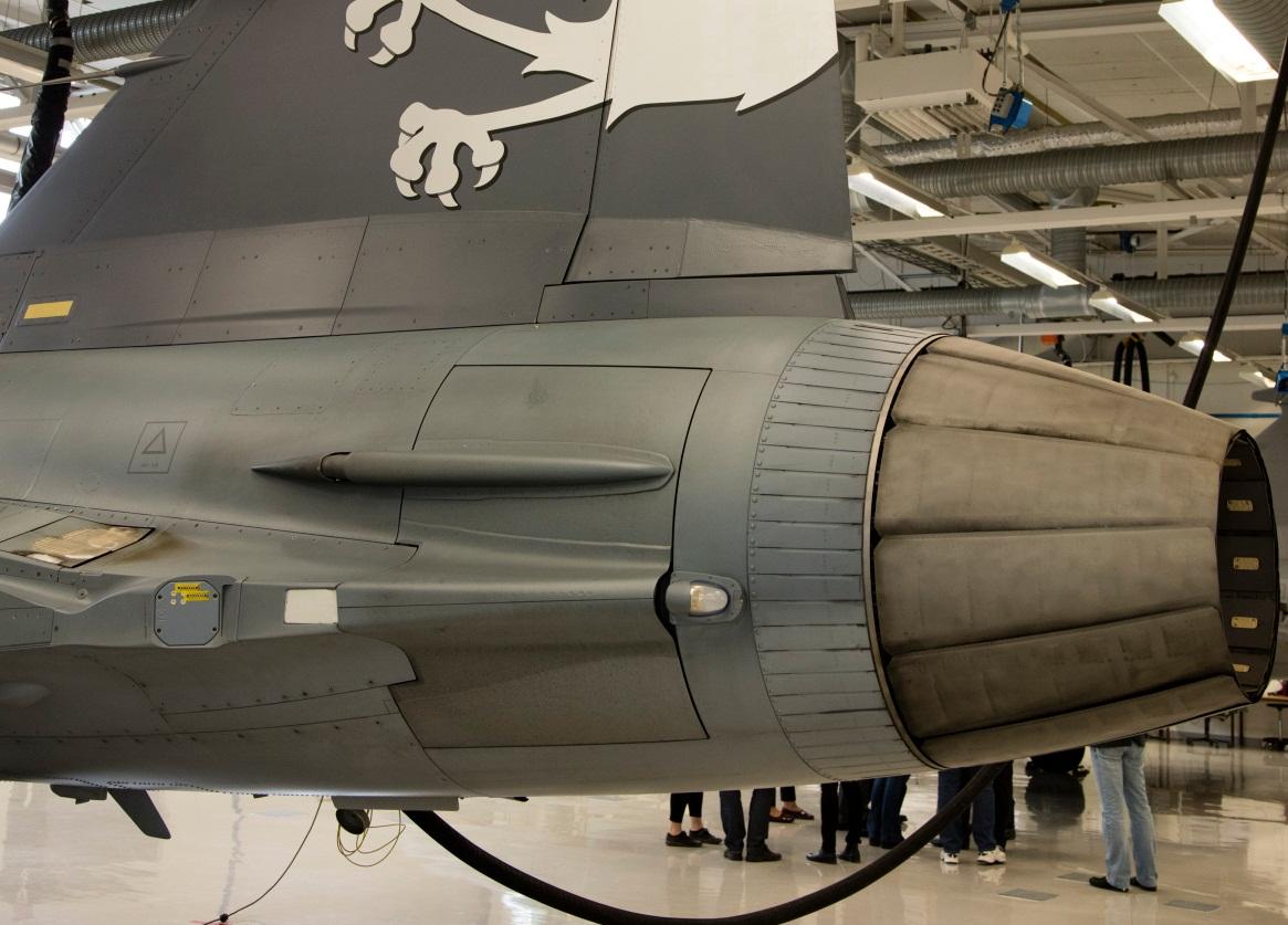 Visita hangar testes Saab 19-5-2016 - foto 19 Saab