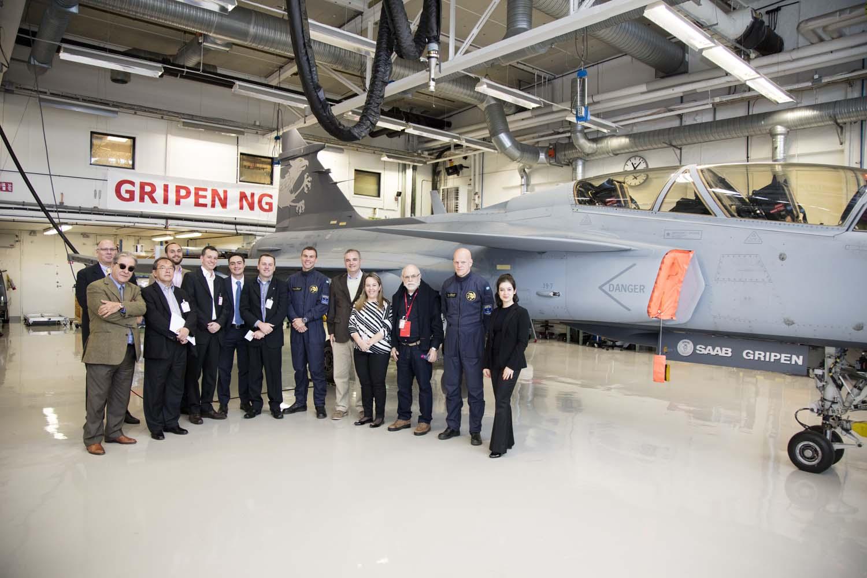 Visita hangar testes Saab 19-5-2016 - foto 8 Saab