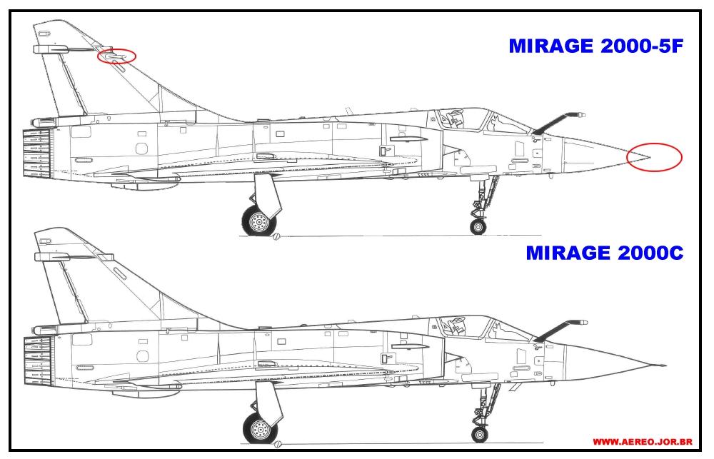 compraracao Mirage 2000c x 2000-5F
