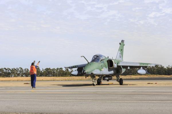 A-1 Exercicio Sabre - foto FAB