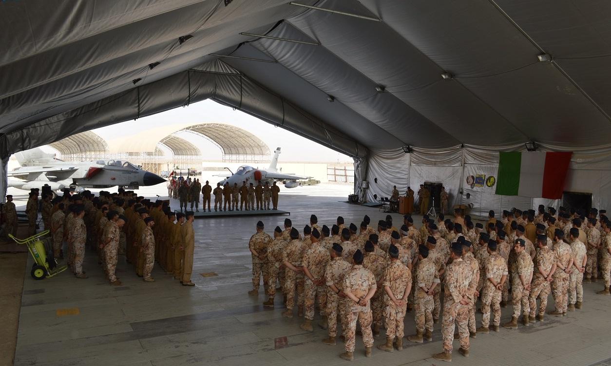 AMX substitui Tornado em reconhecimento no Oriente Medio - foto Forca Aerea Italiana