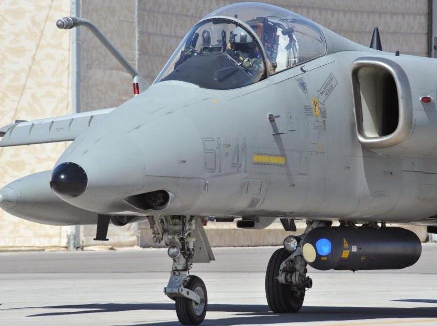 AMX taxiando - foto Forca Aerea Italiana