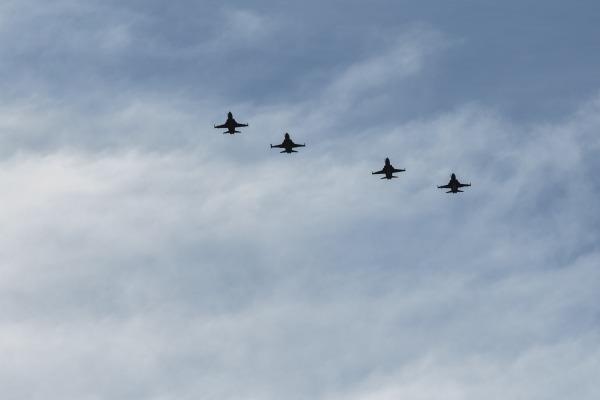 F-5EM Exercicio Sabre - foto 2 FAB