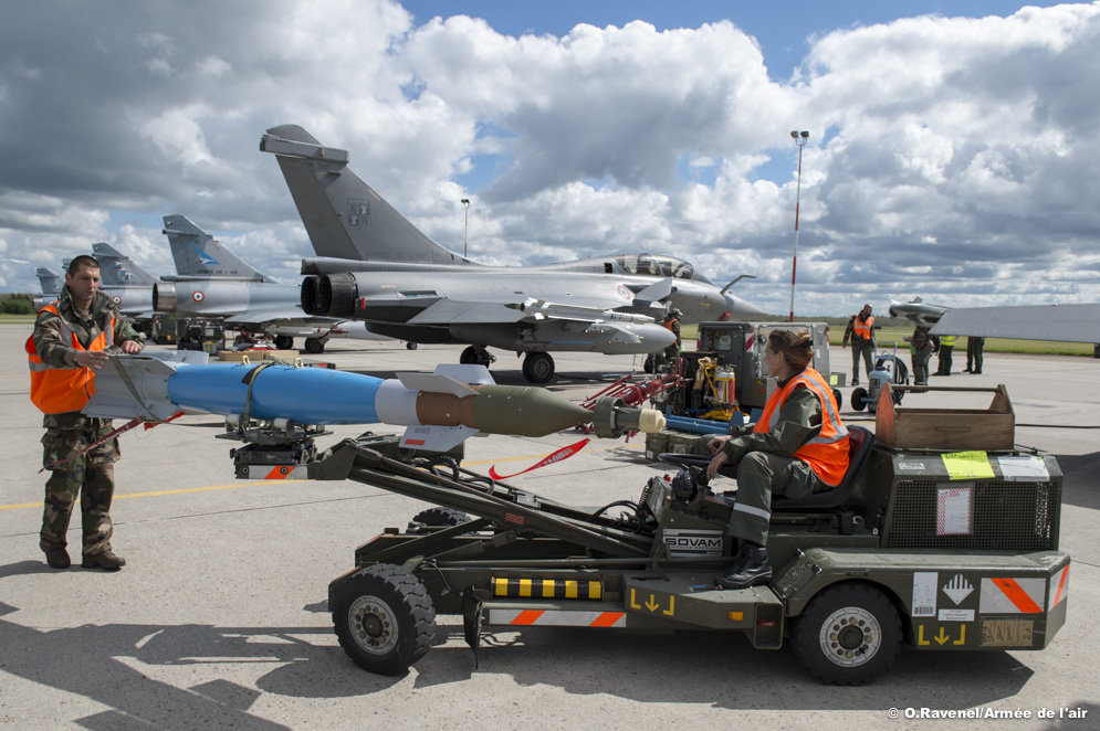 Mapple-Flag-manutencao-Rafale-e-M2000-5-foto-Forca-Aerea-Francesa