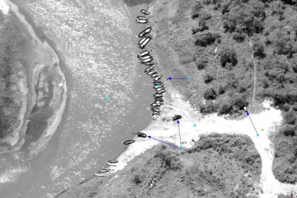 RA-1 - imagem reconhecimento - foto FAB