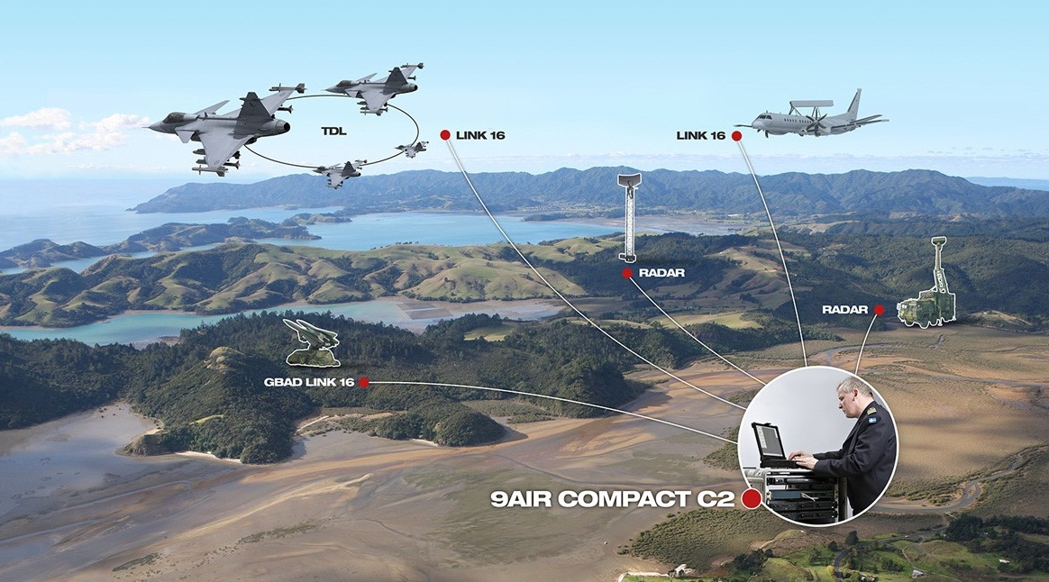 9AIR Compact C2 - imagem Saab