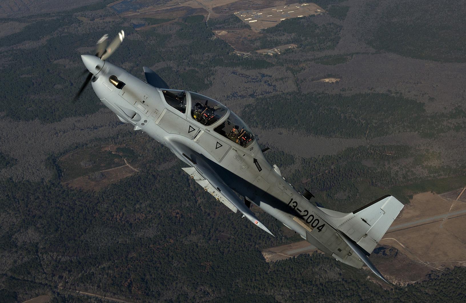 A-29 Super Tucano do Programa LAS destinado ao Afeganistão