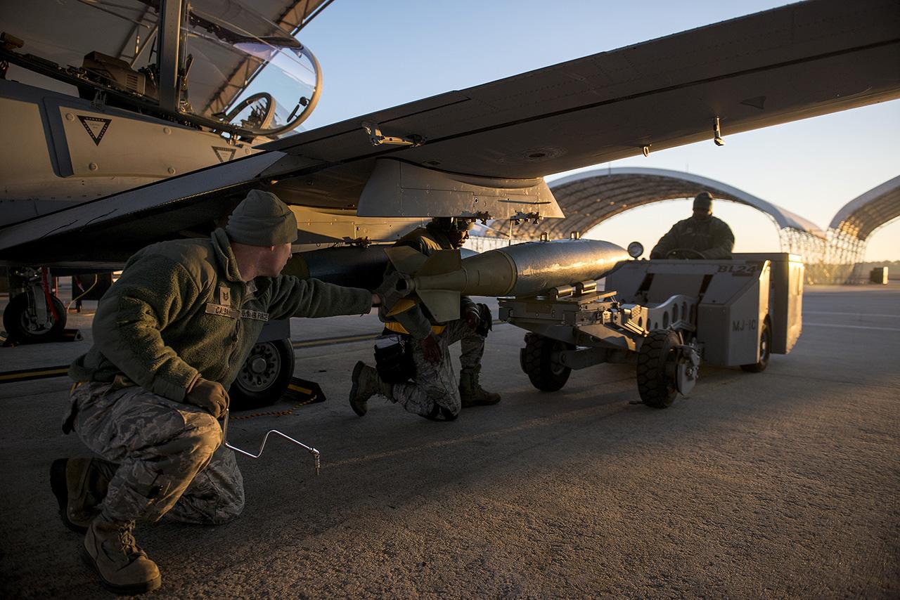 A-29 Super Tucano do Programa LAS treinando nos EUA