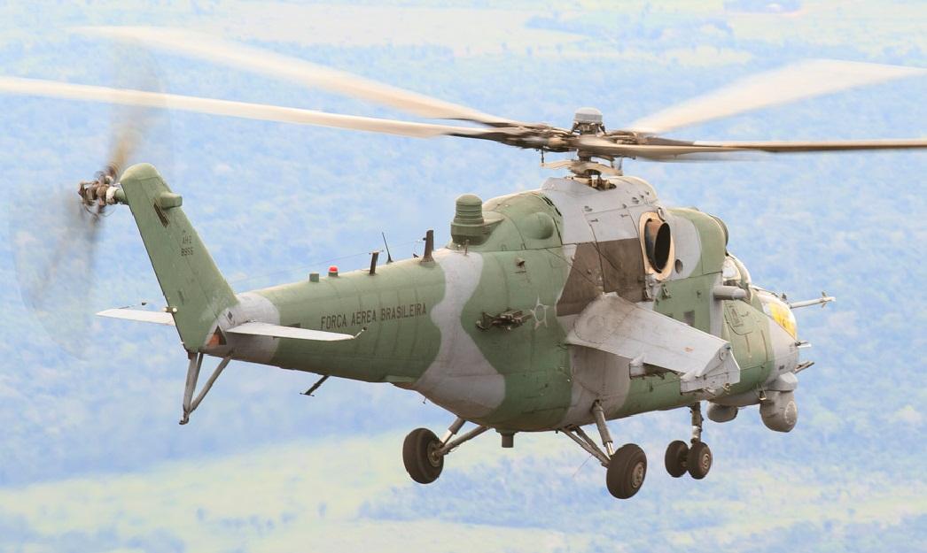 AH-2 em voo - foto FAB