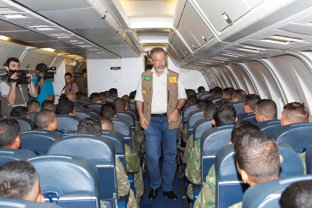 C-767 da FAB - primeiro transporte de tropas - foto 4 FAB - ten Heitor
