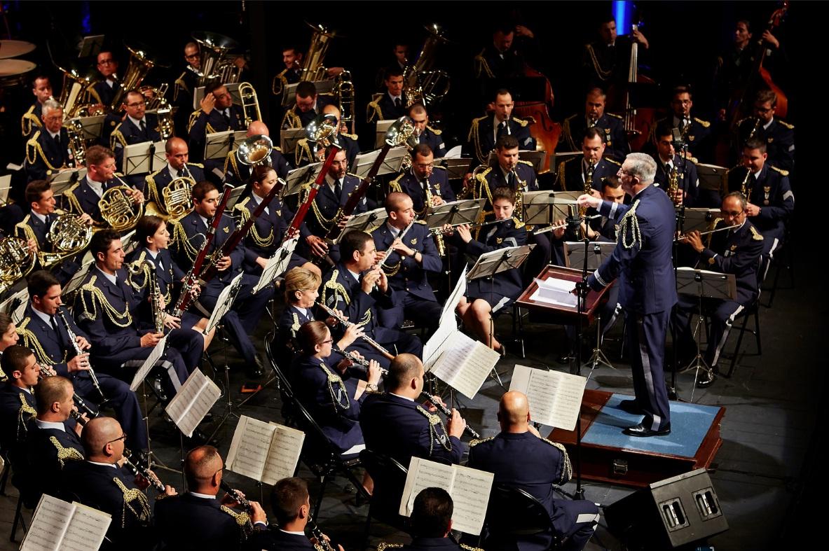 Concerto 64 anos - foto Forca Aerea Portuguesa
