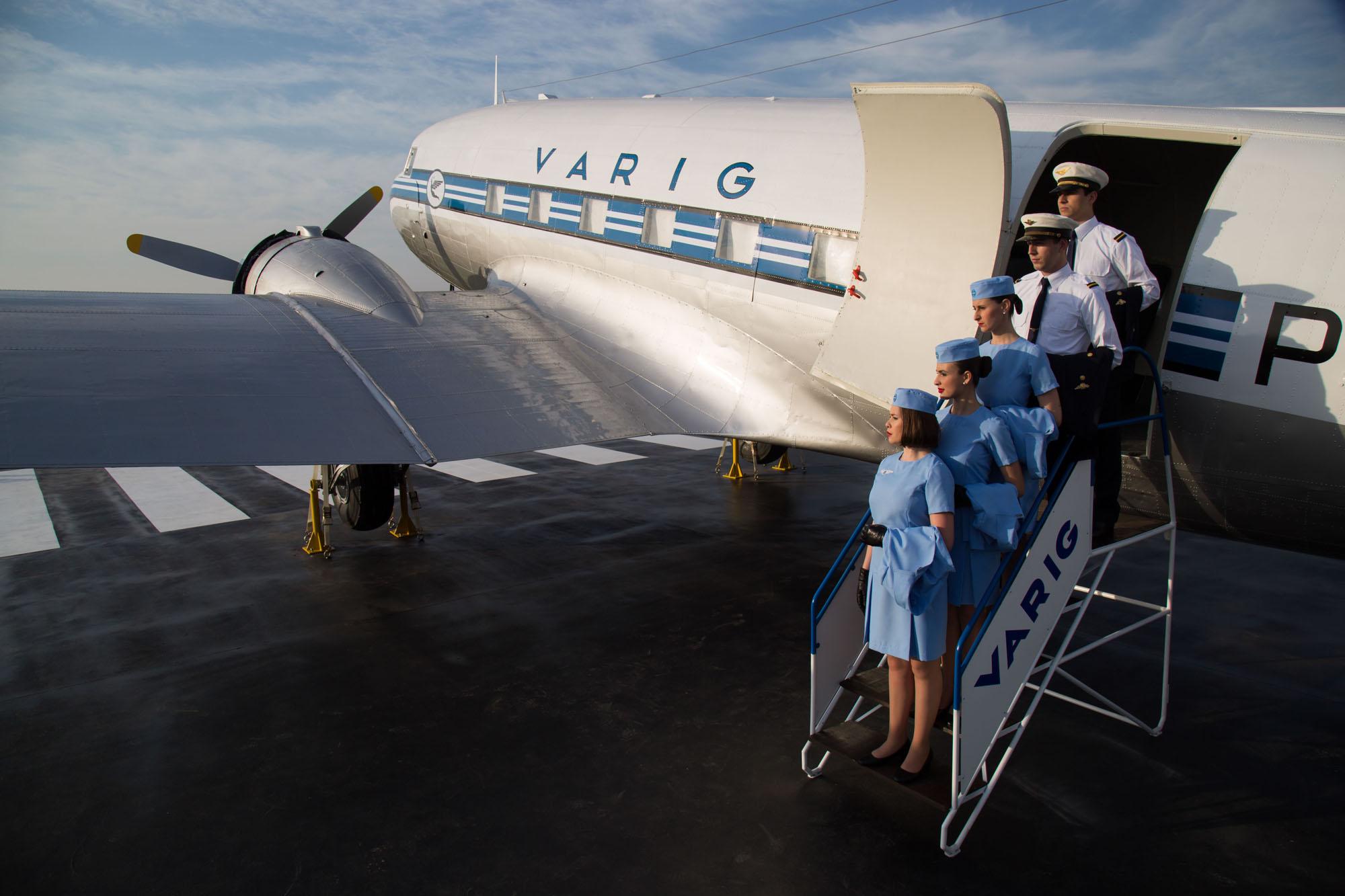 DC-3 da Varig restaurado - 1