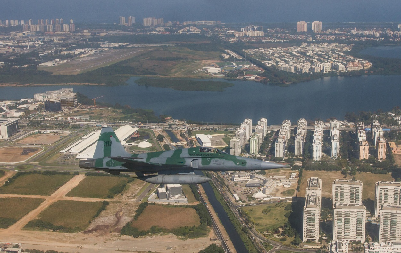 F-5EM exercicio interceptacao para Olimpiadas - foto 4 FAB cb V Santos