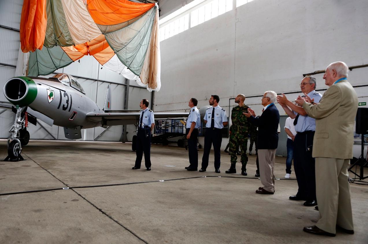 F-84G entregue ao Museu do Ar - foto 2 Forca Aerea Portuguesa