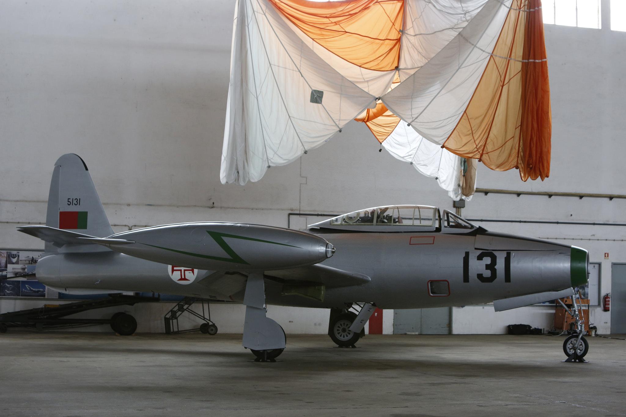 F-84G entregue ao Museu do Ar - foto 3 Forca Aerea Portuguesa