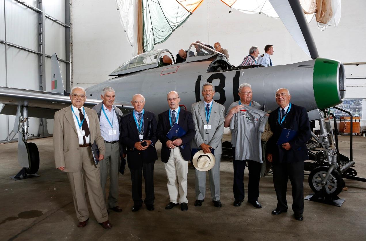F-84G entregue ao Museu do Ar - foto 6 Forca Aerea Portuguesa
