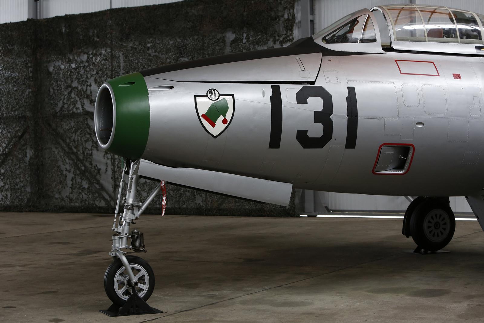 F-84G entregue ao Museu do Ar - foto 7 Forca Aerea Portuguesa