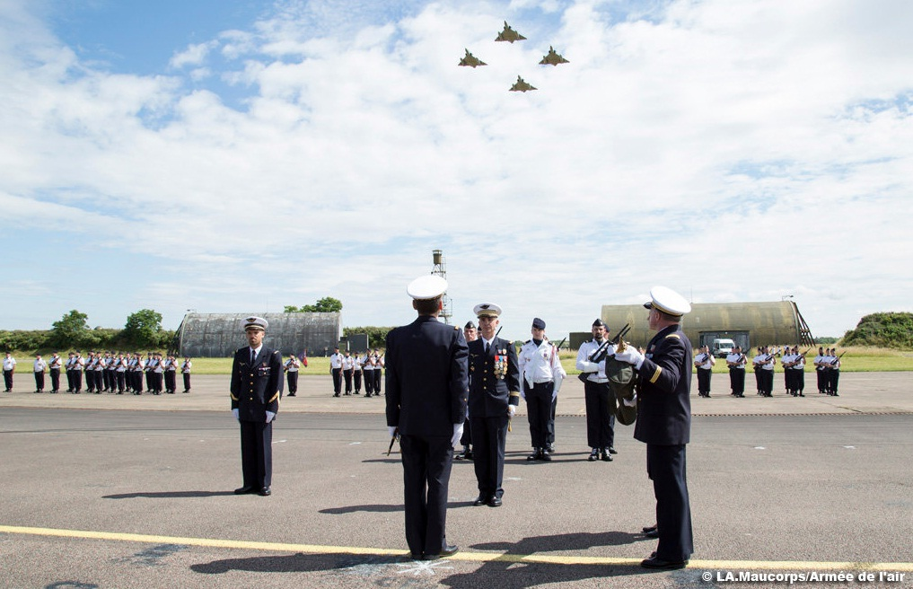 Fechamento Base Aerea de Dijon - foto Forca Aerea Francesa