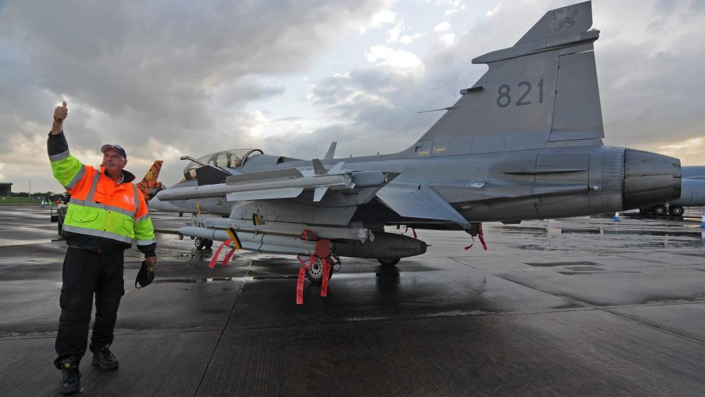 Gripen D no RIAT 2016 - foto 2 Forcas Armadas da Suecia