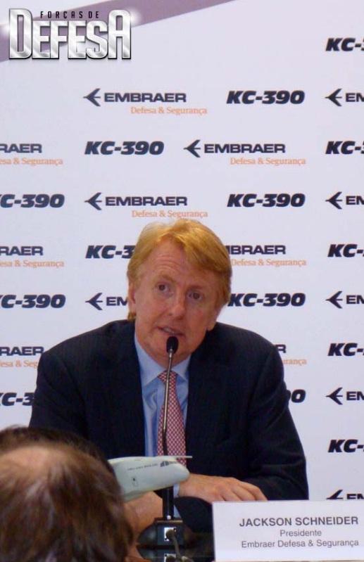 Jackson Schneider presidente Embraer Def e Seg - foto Nunao - Poder Aereo