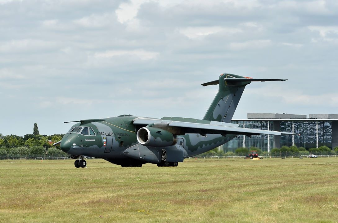 KC-390 Farnborough - foto Embraer