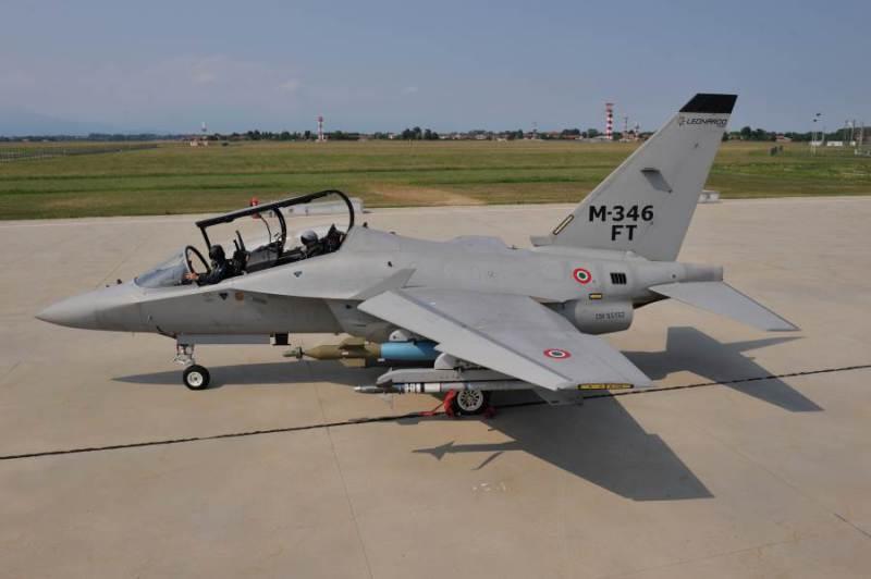 M-346FT - foto Leonardo Finmeccanica